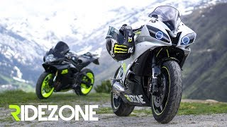 Alps | Superbikes meet Mountains | Ridezone | BMW S1000RR, GSX-R600, Yamaha R6