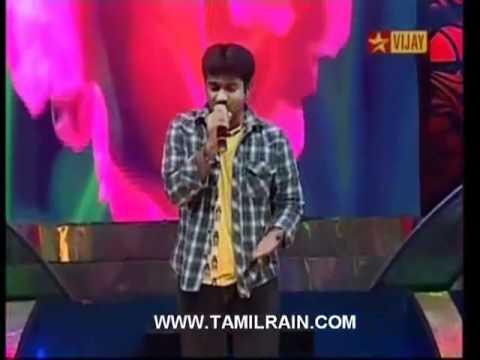 Airtel Super Singer 3 - Krishna Sridharan - Pookal Pookum tharunam...