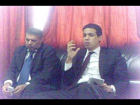 Egypt's Deputy Ambassador Visits MPPA   Amb's Speech1