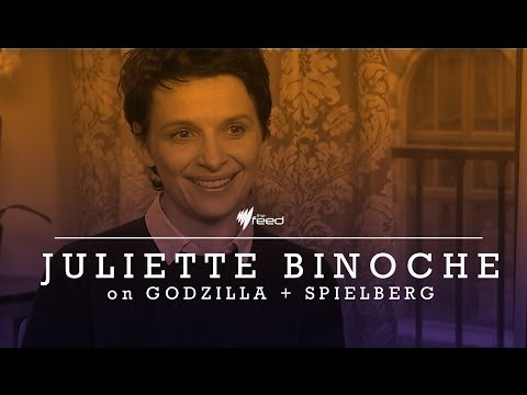 Juliette Binoche talks to Marc Fennell (The Feed)