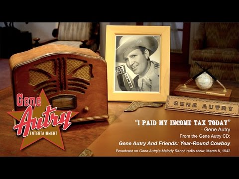 Irving Berlin - I Paid My Income Tax Today