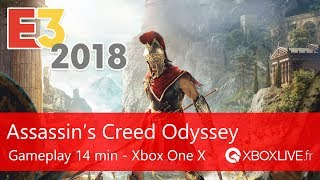 Assassin's Creed Odyssey - Gameplay 14 min - Xbox One X