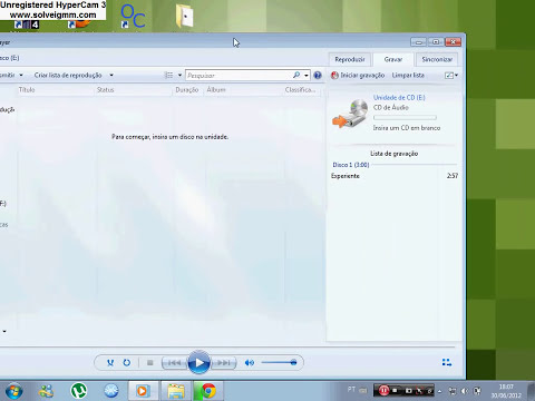 Como Gravar CD de Musica com o Windows Media Player