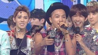 TAEYANG -'눈,코,입(EYES, NOSE, LIPS)' 0706 SBS Inkigayo : NO.1 OF THE WEEK