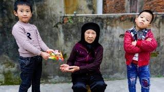 Trò Chơi Bà Cụ Nghèo Khổ Và Cậu Bé Tham Ăn - Bé Nhím TV - Đồ Chơi Trẻ Em Thiếu Nhi