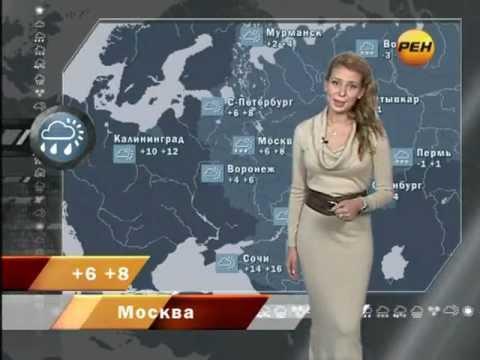"Александра Михайлова - ""Новости 24. Погода"" (27.10.11)"