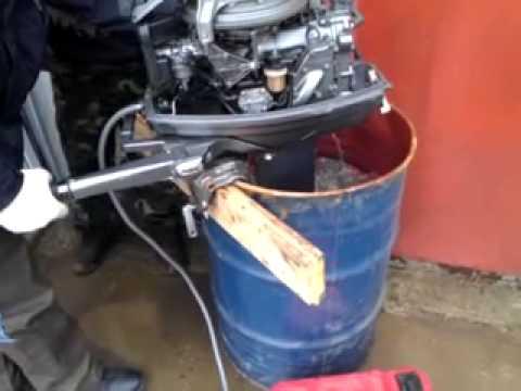 лодочные моторы ямаха как правильно заводить