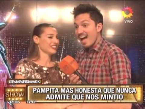 ¡Pampita dijo que viajó a Tandil... ¡pero no por Pico Mónaco!
