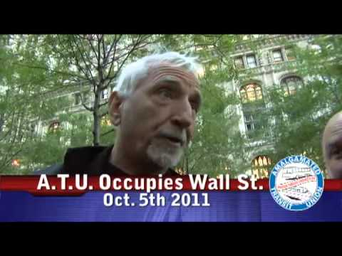 ATU Occupy Wall St