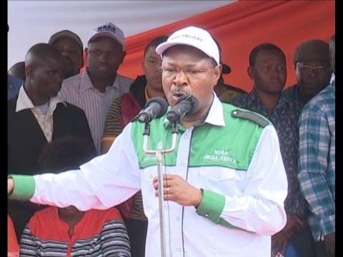 Moses Wetangula speech at the NASA rally in Nakuru Afraha stadium