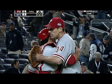 WS 2009 Gm1: Lee dominates the Yankees