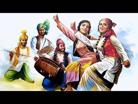 Punjabi Bhangra Songs Dj Style-Non Stop