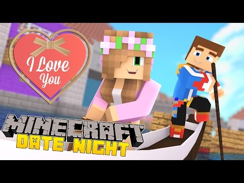 Minecraft - DATE NIGHT: LITTLE DONNY SAYS I LOVE YOU!