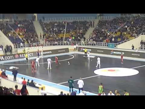 Победный гол Кайрата Футзал 2016 год Алматы Арена