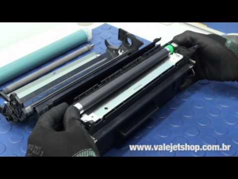 Vídeo Recarga Toner HP C4096A | 96A - Vídeo Aula Valejet.com