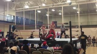 Fuego Del Sol vs. Orion Taylor vs. Joey Garcia vs. Ashton Spears (IHWE)