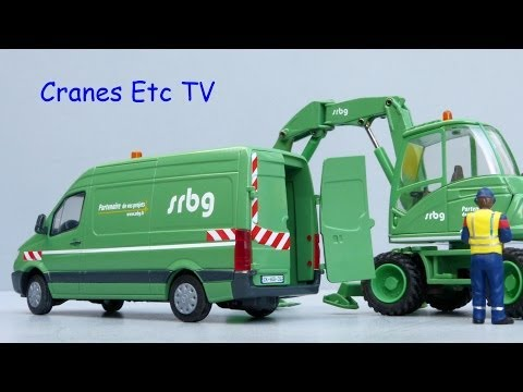 Cranes Etc TV: Conrad Mercedes-Benz Sprinter 'SRBG' Review