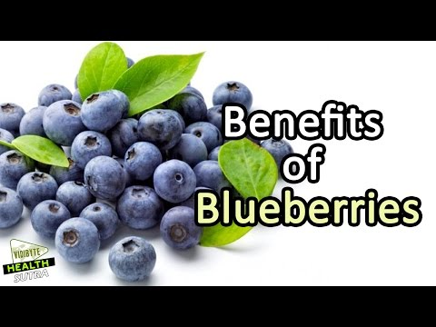 7 Health Benefits of Blueberries || Healthy Food Tips