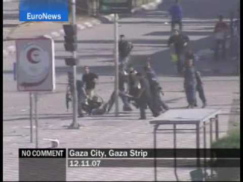 Gaza City - Gaza Strip - EuroNews - No Comment