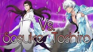 Hogyoku Aizen vs Bankai Toshiro - Character Comparison