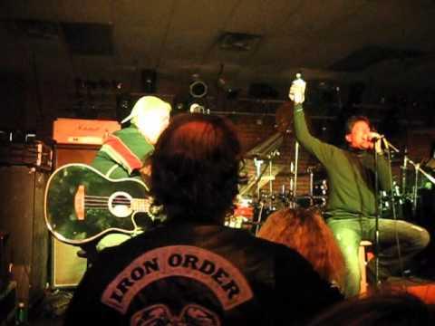 Jan Fields, Bruce Webb, Scott Dolan perform Absent Friends by SAXON