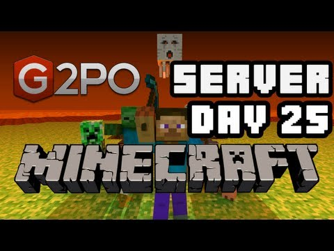 G2PO Minecraft Server - Olympic Sized Pool, and Updates | Day 25