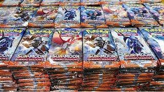 Burning Shadows, 1,000 Booster Pack Pokemon Opening!