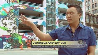 3 HMONG NEWS: St. Paul Murals Project featuring Hmong artists.