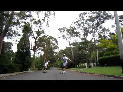 Longboarding: Skate Beecroft.