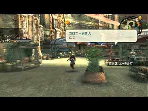 Xenoblade Chronicles: The Vastness of Colony 9 Gameplay