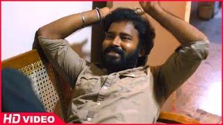 Attakathi - Thirudan Police Tamil Movie - Rajesh gets angry with Attakathi Dinesh