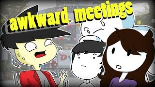 Awkward Meetings with Domics, Jaiden Animations, and Odd1sout (kinda)