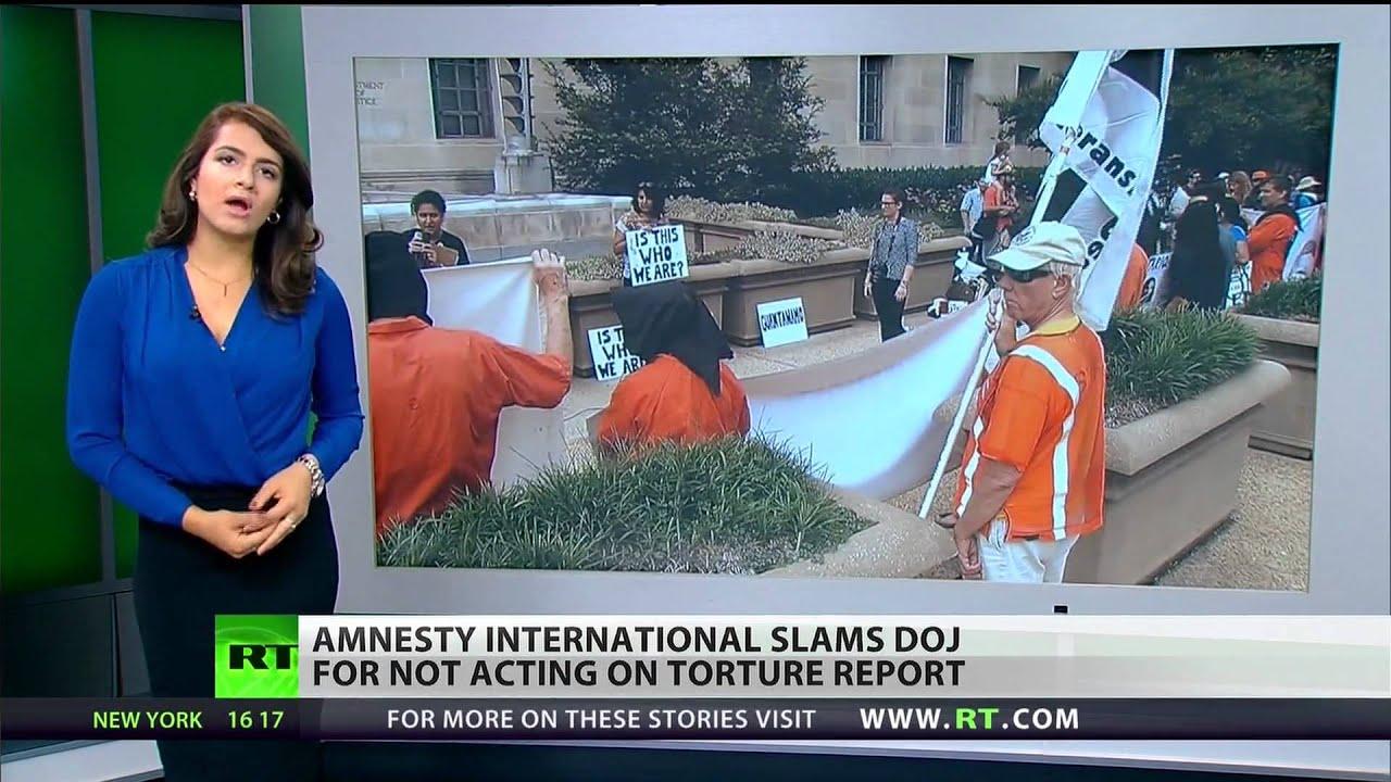 Lack of DOJ response to Senate torture report prompts complaint from Amnesty International