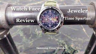 Watch Face Review : Jeweler Time Spartan Samsung Gear S3 Galaxy Watch