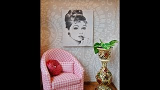 DIY  Ikea Miniature Chair For Barbie
