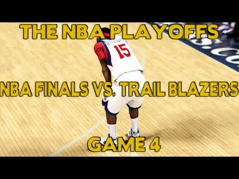 NBA 2K12 My Player Playoffs - Pressured To Win The Championship: NFG4 VS. Blazers Feat. Athletic PG
