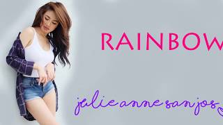Rainbow -Julie Anne San Jose Cover