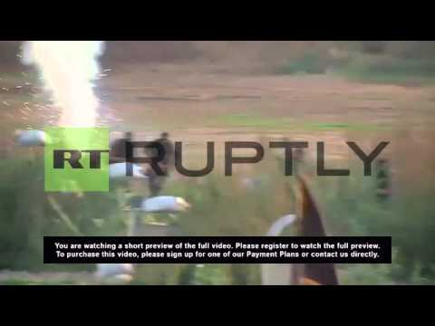 State of Palestine: Watch Al-Quds fighters in LIVE-FIRE drills