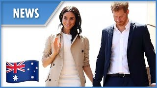 Prince Harry and Meghan Markle are given an Australian welcome to remember