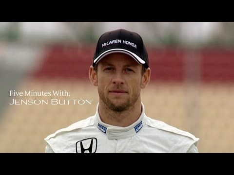 5 Minutes with Jenson Button