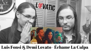 Download Lagu Luis Fonsi & Demi Lovato - Échame La Culpa I OUR REACTION! // TWIN WORLD Gratis STAFABAND