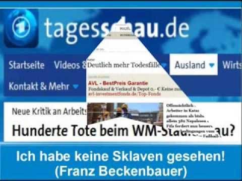 Ich habe keine Sklaven gesehen (Franz Beckenbauer)