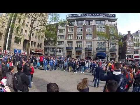Chelsea fans chant for Jos Mourinho - Amsterdam Europe League Final 2013