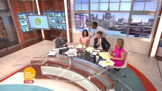 Good Morning Britain microphone issues