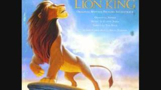 The Lion King Soundtrack - Simba And Scar Fight /The End