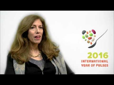 Marcela Villarreal, Directora de Asociaciones de FAO sobre el Año Internacional de las Legumbres