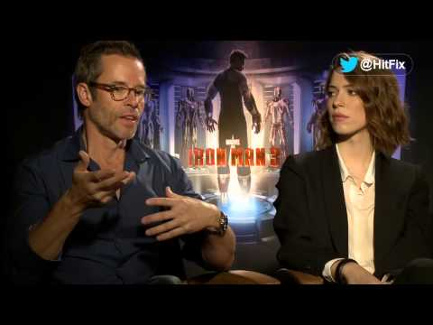 Iron Man 3 - Guy Pearce & Rebecca Hall Interview