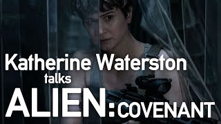 Katherine Waterston interviewed by Simon Mayo