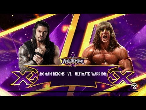 NEXT GEN WWE 2K15 Fantasy Showdown: Roman Reigns vs. Ultimate Warrior