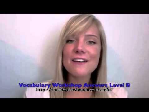 Vocabulary sadlier oxford homework help